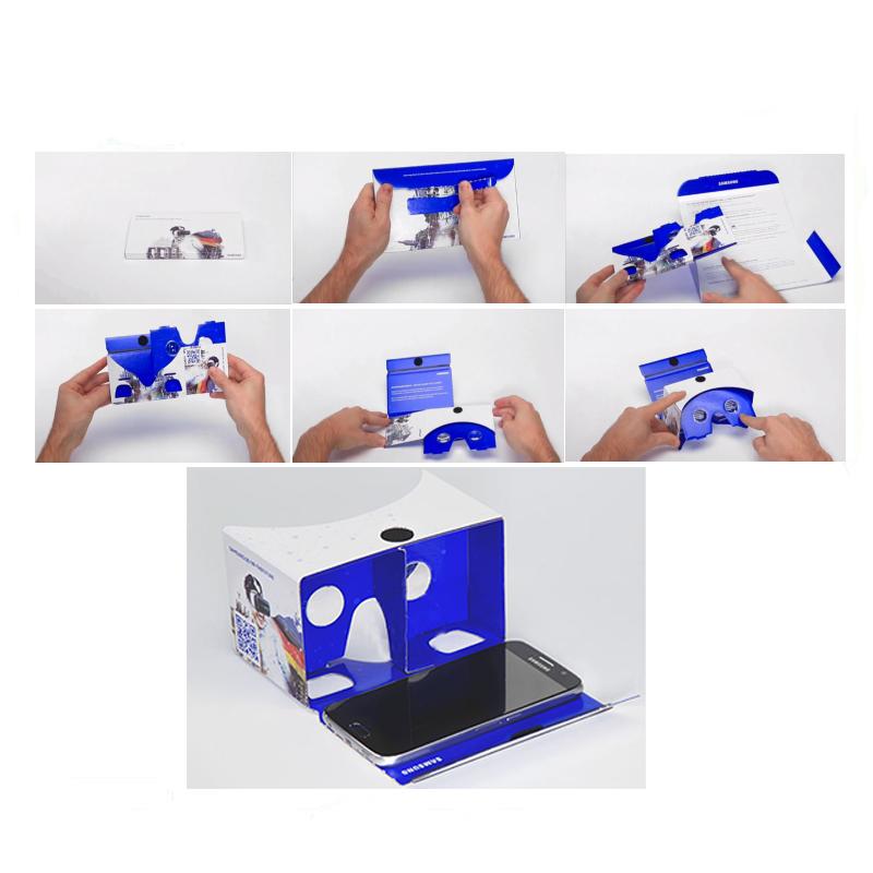 vr 1 0 cardboard virtual reality headset 3d glasses shenzhen liotar technology co ltd. Black Bedroom Furniture Sets. Home Design Ideas
