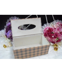 Leather handmade Tissue Box Custom Leather Tissue Box