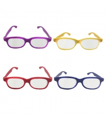 Hot Sale High Quality 3d Cinema/Diffraction/Red Blue/Chromadepth  Glasses With Factory Price
