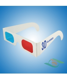 Paper Frame Red Blue Cyan 3d Glasses For Red Cyan Movies/Picturs